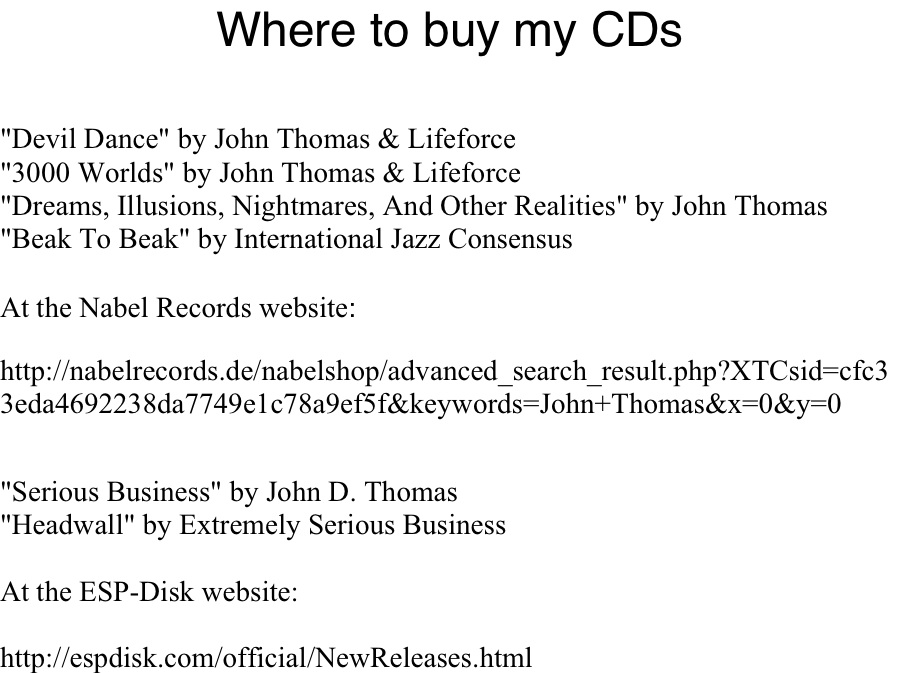 Where to Buy CDs